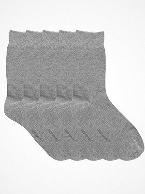 Strumpor - Resteröds 5-pack Bamboo Socks Light grey