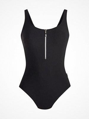 Rosa Faia Elouise One-Piece Swimsuit Black