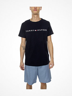 Pyjamas & myskläder - Tommy Hilfiger Original Short Woven Set Blue