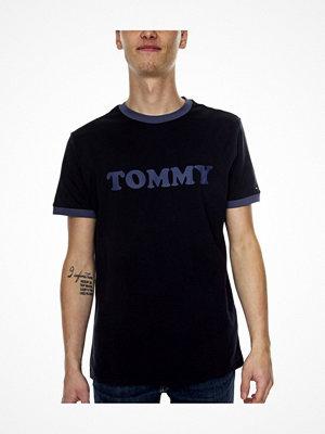 Tommy Hilfiger Sleep CN SS Tee Logo Shirt Darkblue