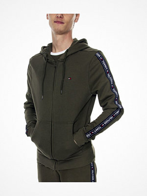 Pyjamas & myskläder - Tommy Hilfiger Authentic Hoodie Darkgreen
