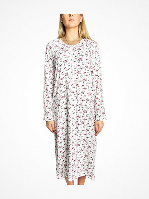 Trofé Trofe Cotton Nightdress Long White w Flower