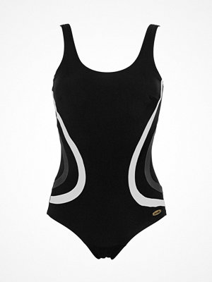 Damella Gloria Basic Chlorine Resistant Swimsuit Black