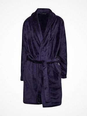 Decoy Women Stripe Robe Midnightblue