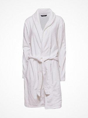 Decoy Women Stripe Robe Ivory