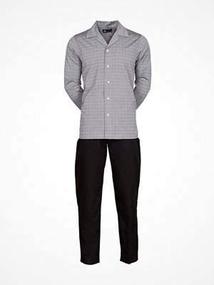 JBS Woven Pyjama Grey/Black