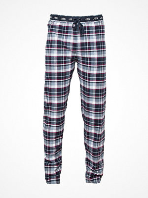 Pyjamas & myskläder - JBS Flannel Pyjama Pants Blue/Red