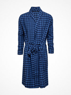 JBS Flannel Bath Robe Checked