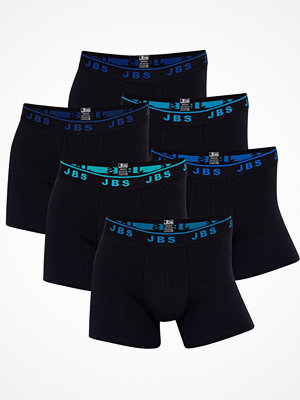 JBS 6-pack Basic Cotton Tights Black/Blue