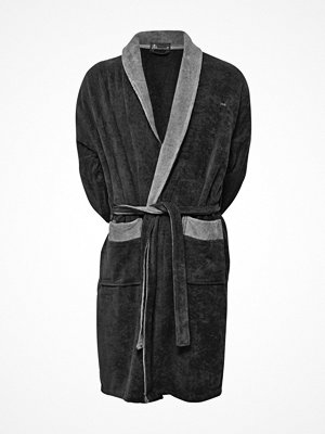 JBS Velour Bath Robe Darkgrey