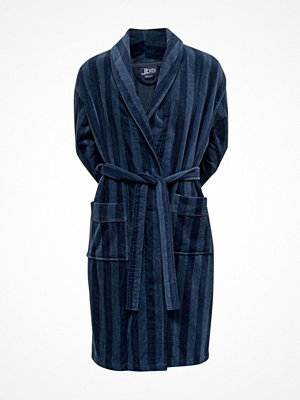 Morgonrockar - JBS Velour Bath Robe Darkblue