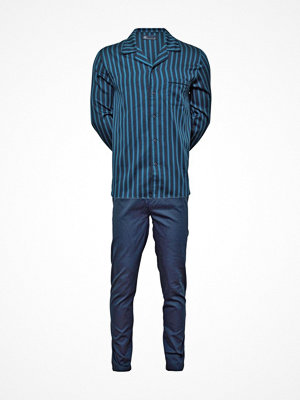 JBS Woven Buttoned Pyjama Blue Striped