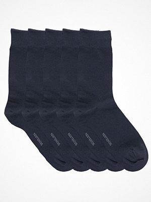 Strumpor - Resteröds 5-pack Cotton Socks Navy-2