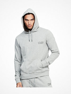 Pyjamas & myskläder - Frank Dandy Unisex Solid Hoodie Greymarl
