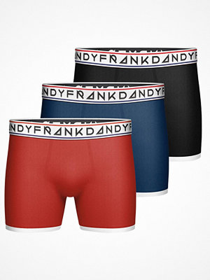 Frank Dandy 3-pack St Paul Bamboo Boxers Black/Orange