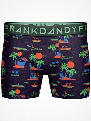 Frank Dandy Printed Boxer Black pattern-2
