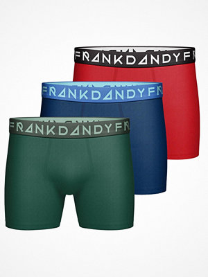 Kalsonger - Frank Dandy 3-pack Solid Boxers Multi-colour