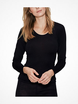 JBS of Denmark Wool Long Sleeve Top Black