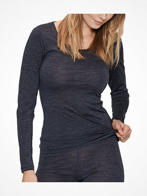 JBS of Denmark Wool Long Sleeve Top Darkgrey