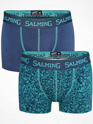 Salming 2-pack Marble Boxer Blue/Turquoise