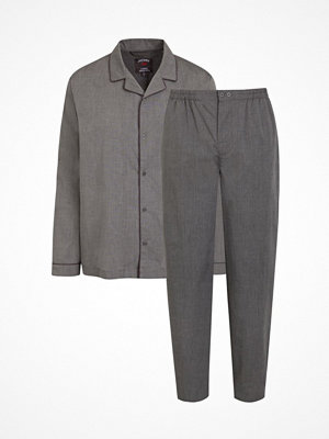 Jockey Cotton Chambray Pyjama Grey