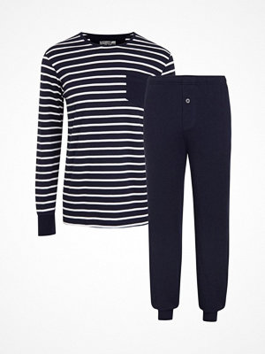Jockey Cotton Nautical Stripe Pyjama Navy Striped