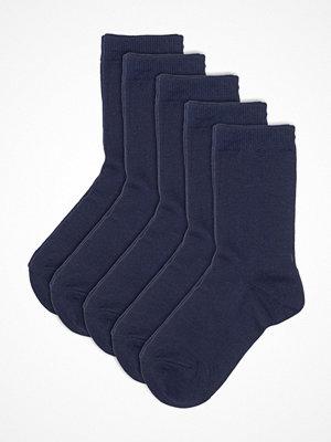 Strumpor - Pierre Robert 5-pack Eco Basic Socks For Kids Navy-2