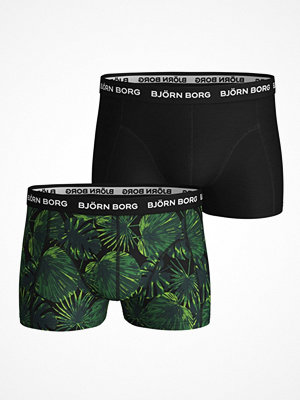 Kalsonger - Björn Borg 2-pack Essential Shorts 1932 Black/Green