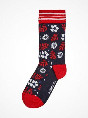 Strumpor - Björn Borg Bamboo Socks Red Pattern-2