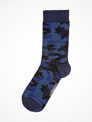 Strumpor - Björn Borg Bamboo Socks Blue Pattern