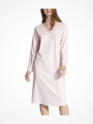 Nattlinnen - Calida Cosy Cotton Nights Nightdress Pink