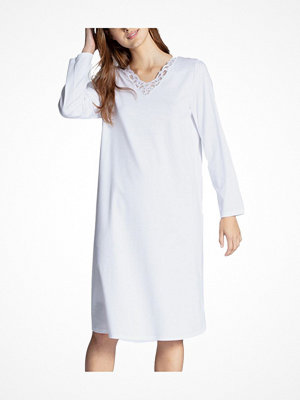 Nattlinnen - Calida Cosy Cotton Nights Nightdress White