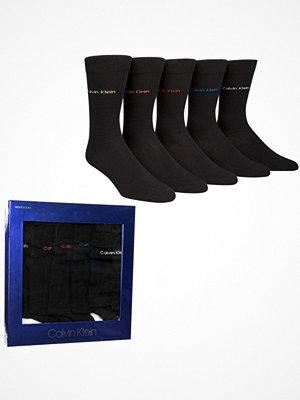 Strumpor - Calvin Klein 5-pack Teddy Solid Socks Gift Box Black