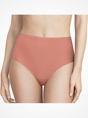 Chantelle Soft Stretch High Waisted Thong Pink