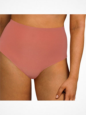 Chantelle Soft Stretch High Waisted Thong Plus Pink