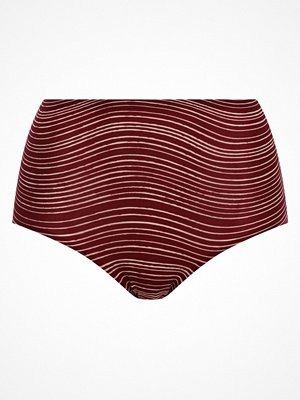 Chantelle Soft Stretch Panties Wine red w Pattern