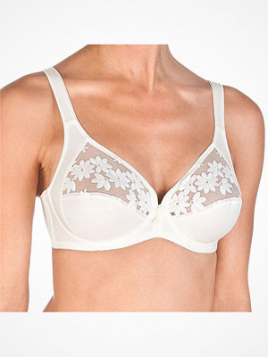 Felina Swiss Broderie Bra With Wire Ivory