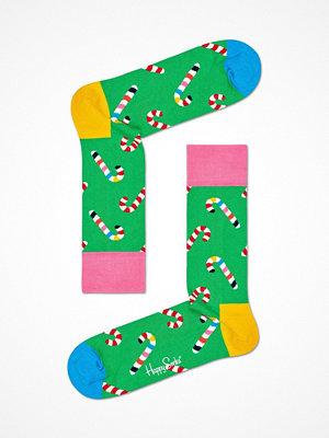 Happy Socks Happy Socks Candy Cane Sock Green Pattern