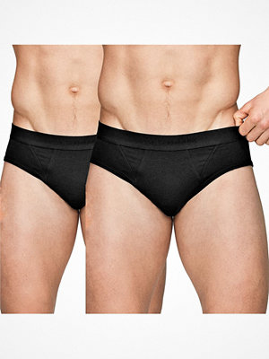 Kalsonger - JBS of Denmark 2-pack Organic Cotton Brief Black