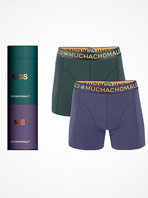 Kalsonger - Muchachomalo 2-pack Cotton Stretch Boxer Gift Box Lilac
