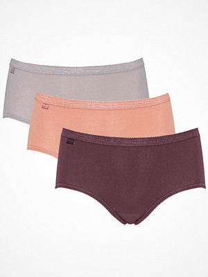 Sloggi 3-pack Basic Plus Midi Colored Pink/Grey