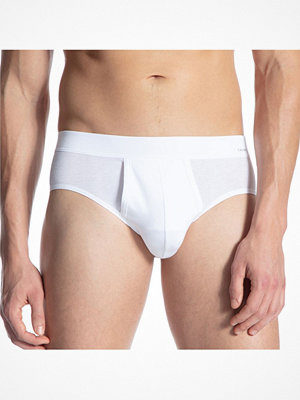 Calida Cotton Code Brief With Fly White