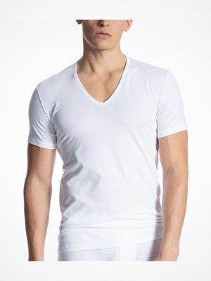 Calida Cotton Code V-Shirt White