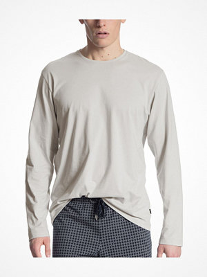 Calida Remix Basic Shirt Long Sleeve Beige
