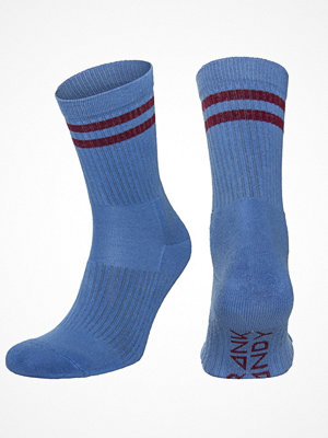 Strumpor - Frank Dandy Half Terry Sock Blue