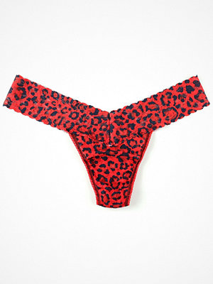 Hanky Panky Low Rise Thong On The Prowl Black/Red