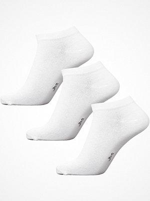 JBS 3-pack Bamboo Ankle Socks White