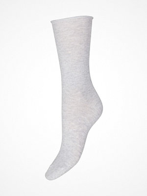 Strumpor - Decoy Thin Comfort Top Socks Light grey