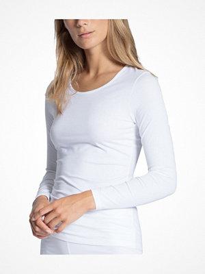 Calida Natural Comfort Top Long Sleeve White