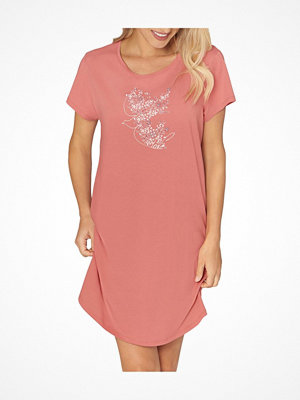 Nattlinnen - Triumph Lounge Me Cotton Nightdress Coral